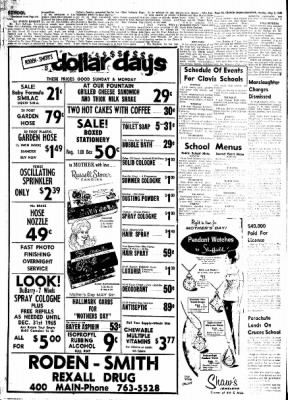 Clovis News-Journal from Clovis, New Mexico on May 2, 1965 · Page 39