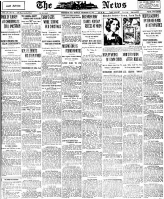 The News from Frederick, Maryland on December 21, 1931 · Page 1