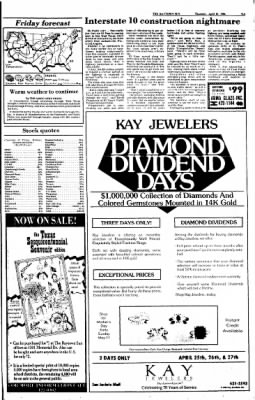 The Baytown Sun from Baytown, Texas on April 24, 1986 · Page 9
