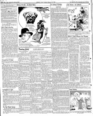 Lubbock Morning Avalanche from Lubbock, Texas on February 24, 1942 · Page 6