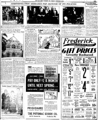 The News from Frederick, Maryland on December 22, 1931 · Page 9