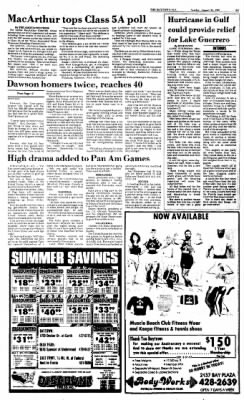 The Baytown Sun from Baytown, Texas on August 23, 1987 · Page 17