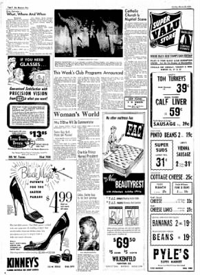 The Baytown Sun from Baytown, Texas on March 26, 1956 · Page 4