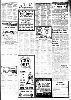 Clovis News-Journal from Clovis, New Mexico on May 9, 1965 · Page 23
