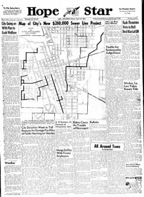 Hope Star from Hope, Arkansas on July 14, 1961 · Page 1