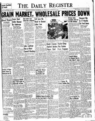 The Daily Register from Harrisburg, Illinois on February 11, 1948 · Page 1