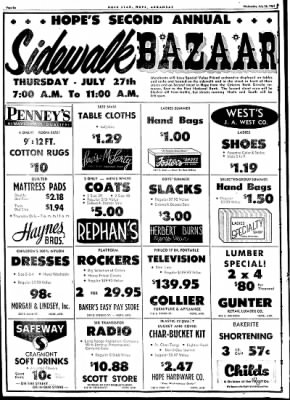 Hope Star from Hope, Arkansas on July 26, 1961 · Page 6