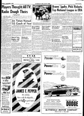 The Courier News from Blytheville, Arkansas on December 15, 1953 · Page 11