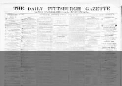 The Pittsburgh Gazette