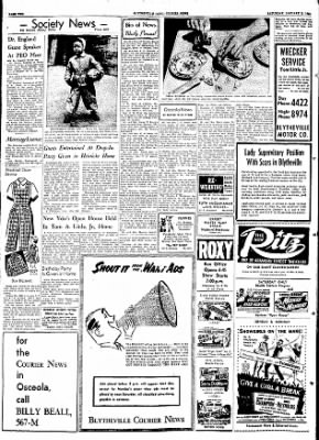 The Courier News from Blytheville, Arkansas on January 2, 1954 · Page 2