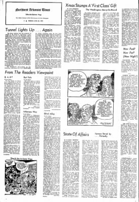 Northwest Arkansas Times from Fayetteville, Arkansas on April 30, 1974 · Page 4