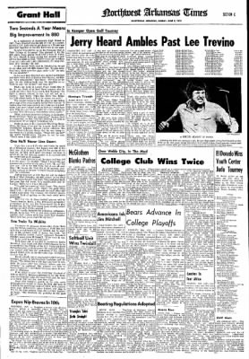 Northwest Arkansas Times from Fayetteville, Arkansas on June 2, 1974 · Page 15