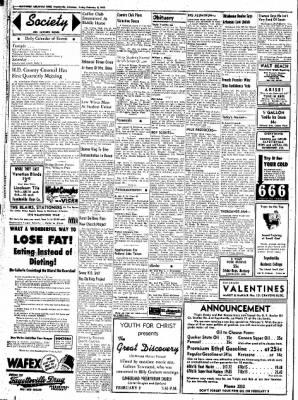 Northwest Arkansas Times from Fayetteville, Arkansas on February 8, 1952 · Page 2