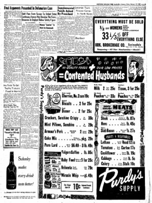 Northwest Arkansas Times from Fayetteville, Arkansas on February 15, 1952 · Page 5