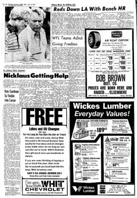 Northwest Arkansas Times from Fayetteville, Arkansas on August 7, 1974 · Page 16