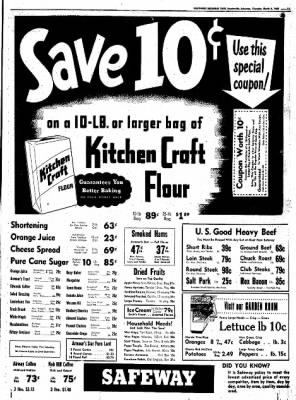 Northwest Arkansas Times from Fayetteville, Arkansas on March 6, 1952 · Page 11