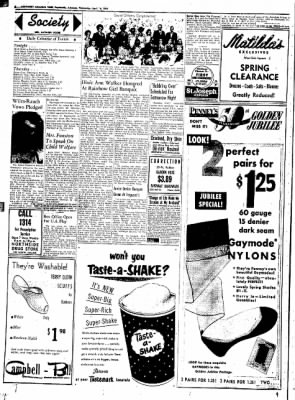 Northwest Arkansas Times from Fayetteville, Arkansas on April 16, 1952 · Page 2