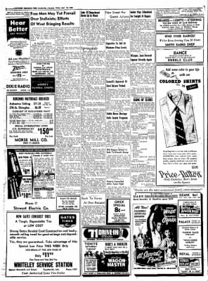 Northwest Arkansas Times from Fayetteville, Arkansas on April 18, 1952 · Page 6