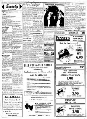 Northwest Arkansas Times from Fayetteville, Arkansas on April 29, 1952 · Page 2