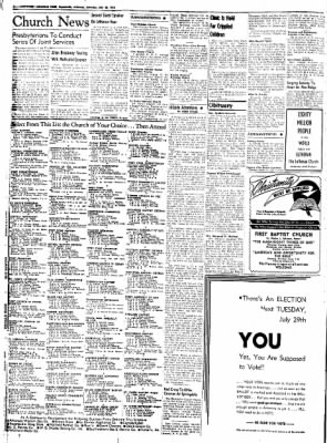 Northwest Arkansas Times from Fayetteville, Arkansas on July 26, 1952 · Page 2