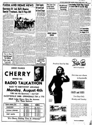 Northwest Arkansas Times from Fayetteville, Arkansas on August 2, 1952 · Page 3