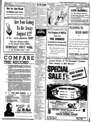 Northwest Arkansas Times from Fayetteville, Arkansas on August 9, 1952 · Page 5