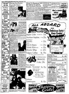 Northwest Arkansas Times from Fayetteville, Arkansas on August 21, 1952 · Page 8
