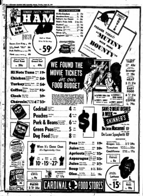 Northwest Arkansas Times from Fayetteville, Arkansas on August 28, 1952 · Page 10