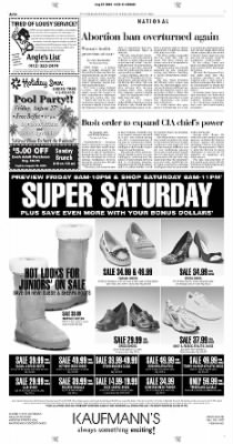 Pittsburgh Post-Gazette from Pittsburgh, Pennsylvania on August 27, 2004 · Page 14