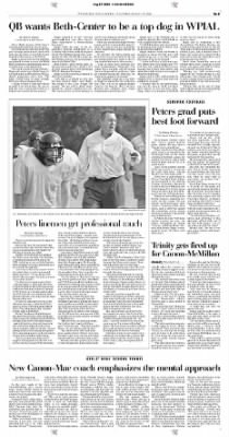 Pittsburgh Post-Gazette from Pittsburgh, Pennsylvania on August 29, 2004 · Page 160