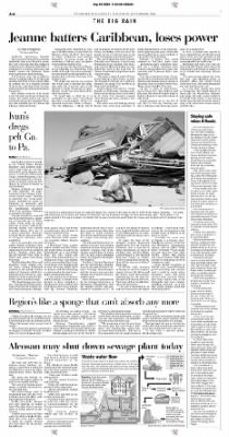 Pittsburgh Post-Gazette from Pittsburgh, Pennsylvania on September 18, 2004 · Page 6