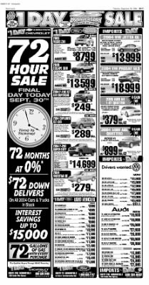 Pittsburgh Post-Gazette from Pittsburgh, Pennsylvania on September 30, 2004 · Page 62