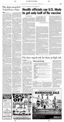 Pittsburgh Post-Gazette from Pittsburgh, Pennsylvania on October 9, 2004 · Page 3