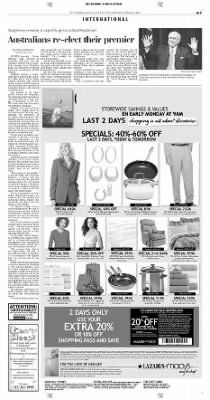 Pittsburgh Post-Gazette from Pittsburgh, Pennsylvania on October 10, 2004 · Page 3