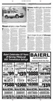 Pittsburgh Post-Gazette from Pittsburgh, Pennsylvania on October 13, 2004 · Page 61