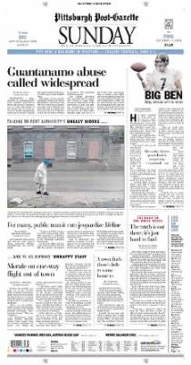 Pittsburgh Post-Gazette from Pittsburgh, Pennsylvania on October 17, 2004 · Page 1