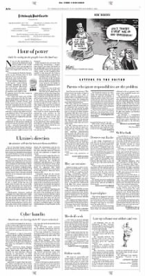 Pittsburgh Post-Gazette from Pittsburgh, Pennsylvania on November 2, 2004 · Page 14
