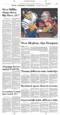 Pittsburgh Post-Gazette from Pittsburgh, Pennsylvania on November 6, 2004 · Page 33